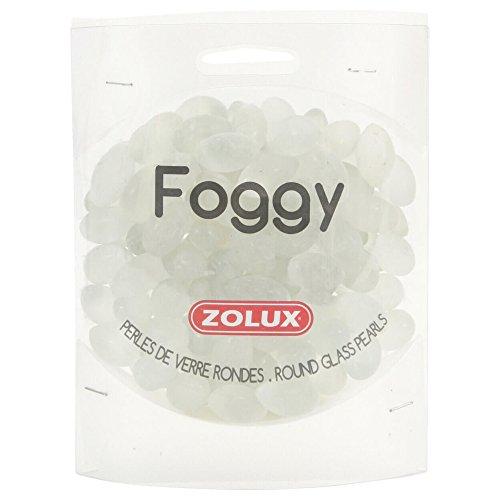 Zolux Perles de Verre Foggy pour Aquariophilie 442 g
