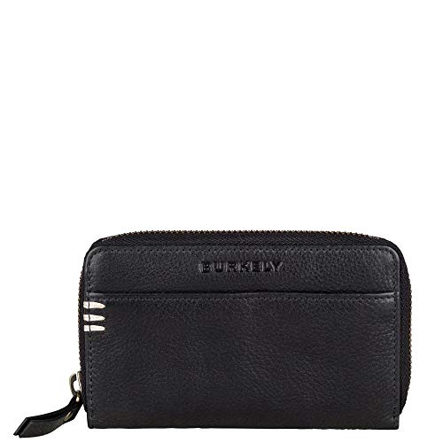Burkely Craft Caily Wallet M Portemonnee RFID Zwart