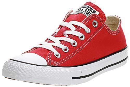 Converse Chuck Taylor All Star Ox, Zapatillas Mujer, Rojo (Tango Red 9696),...