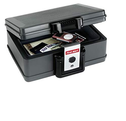 First Alert - Feuerfeste & wasserdichte Dokumentenbox - Safe - Tresor 4,9 Liter MBS-FIRE®