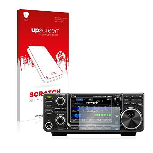 upscreen Protector Pantalla Compatible con Icom IC-9700 Película Protectora – Transparente, Anti-Huellas