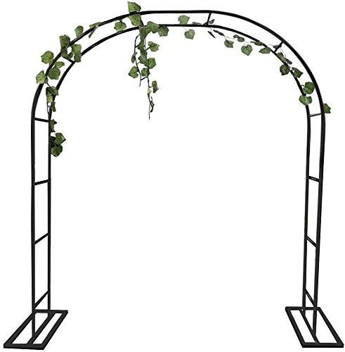MFWallMirror - Soporte de flores para puertas de jardín para plantas y escaladas, soporte para el crecimiento del jardín, puerta de entrada al aire libre, decoración de ceremonia de boda