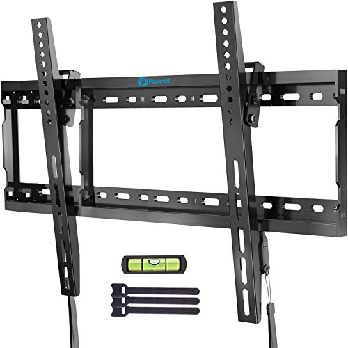 Tilt TV Wall Mount Bracket Low Profile for Most 37-70 Inch LED LCD OLED Plasma Flat Curved Screen TVs, Large Tilting Mount Fits 16-24 Inch Wood Studs Max VESA 600x400mm Holds up to 132lbs by Pipishell. Buy it now for 23.96