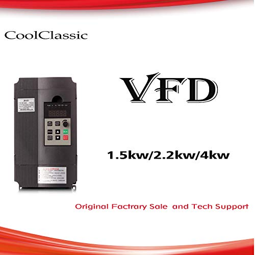 VFD - Conversor inversor CoolClassic ZW-AT1 2,2 KW 3 HP 220 V 12 A