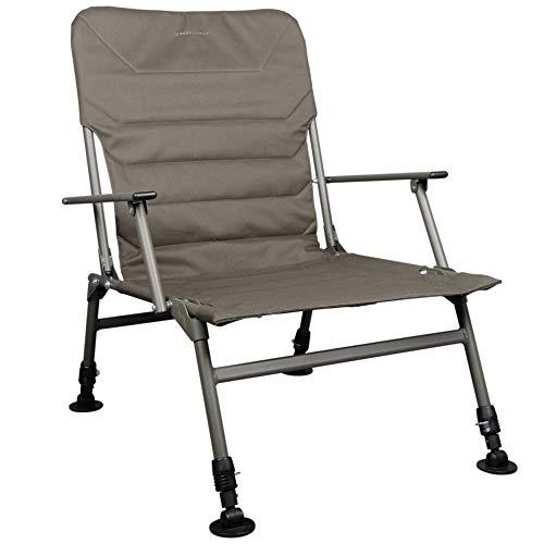 Strategy Foresta 51+ Chair - Karpfenstuhl für Angler, Anglerstuhl für Karpfenangler & Welsangler, Stuhl zum Ansitzangeln