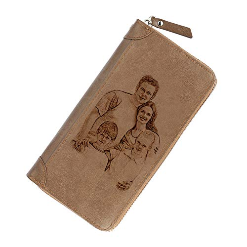 Personalized Photo Wallet & Vintage Purse
