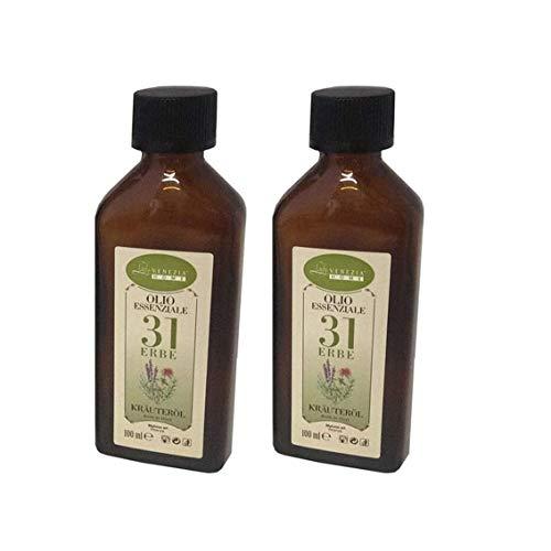 2 Conf. Olio Essenziale,31 Erbe da 100 ml
