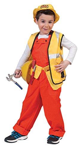 Karneval-Klamotten Kostüm Latzhose orange Kostüm Junge Mädchen Karneval Kinderkostüm