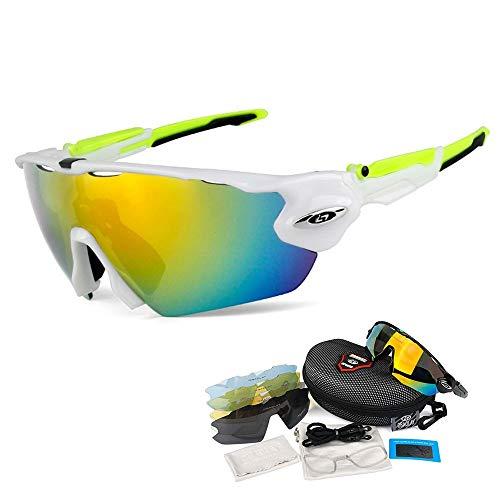OPEL-R Gafas de Ciclismo de Deportes al Aire Libre, Gafas MTB Polarizadas...