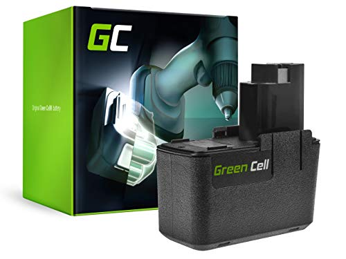 GC® (2.5Ah 9.6V Ni-MH) BAT001 2607335035 2607335037 Batterie pour Bosch PSR 9.6 VE, PSB 9.6VES, PSR 9.6VES-2, PSB 9.6 VE-2, PSB 9.6VES-2, GSR 9.6 VE-2, GSR 9.6VES-2, GSB 9.6 VE-2, GSB 9.6VES-2