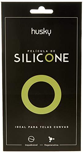 Película de Silicone, Husky para Samsung Galaxy S9 Plus , Capa Protetora para Celular, Transparente