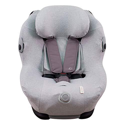 JANABEBE Funda compatible con Maxi Cosi Bébé Confort Opal (Grey Stone)