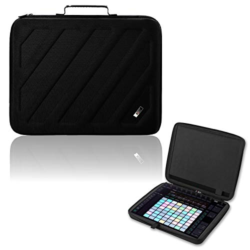 BUBM Portable Hard shell EVA Case Compatible For Ableton Push 2 Controller,Travel Carrying Protective Storage Bag For AP2