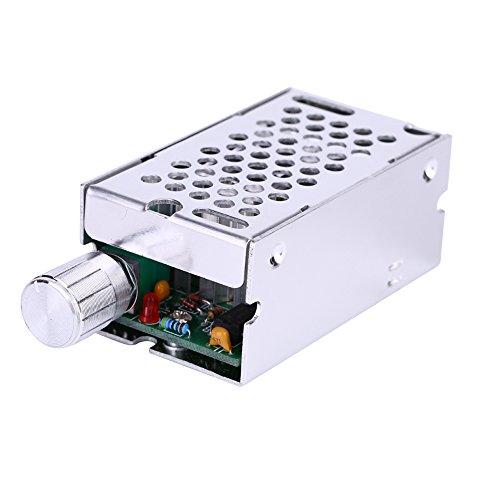 12V 24V 36V 60V 10A DC Cepillo PWM Controlador de Regulador de Velocidad del Motor Interruptor de Tarjeta Ajustable Módulo de Conductor