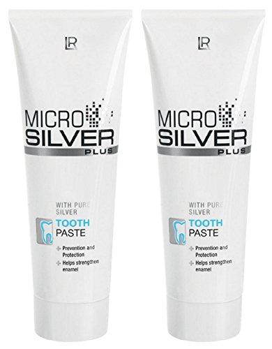 LR Microsilver Plus Zahncreme Tooth Paste (2x 75 ml)