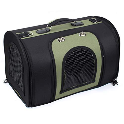 DWW Ultra Light Pet Carrier Katze Reiserucksack Puppy Große Handtasche Faltbar, 3 Seitenlüftungstür, Wasserdichte Fußunterlage, Mehrere Farben erhältlich (Farbe : C)