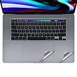 16インチMacBook Pro 2019 トラックパッド保護フィルム パームレスト保護フィルム 保護シール (スペースグレイ)