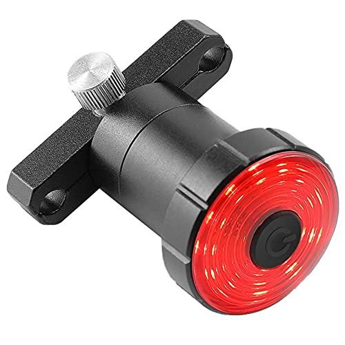 Cola luz de la Bici de la Bicicleta Recargable Inteligente Luces traseras de una Silla de Montaje del Freno de detección Posterior de la Bici Accesorios de LED para Bicicleta de Carretera
