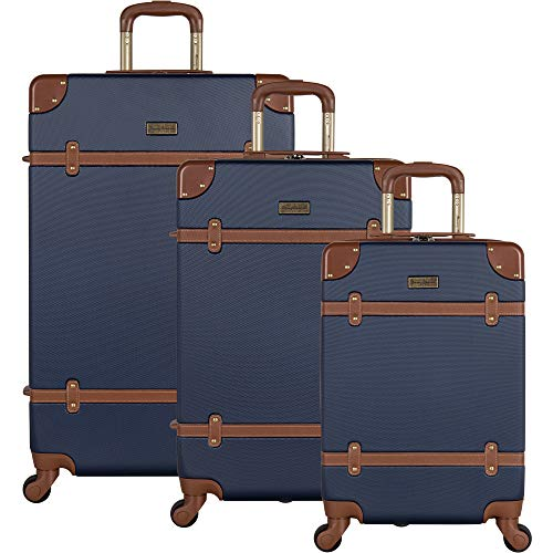 Tommy Bahama Luggage, Navy, 3 Piece