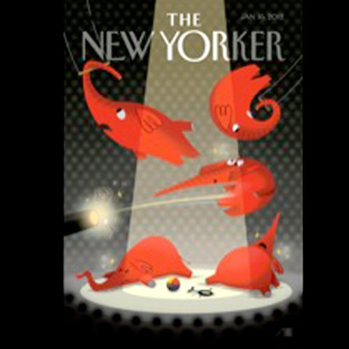 The New Yorker, January 16th 2012 (John Seabrook, Wendell Stevenson, Adam Gopnik) audiobook cover art