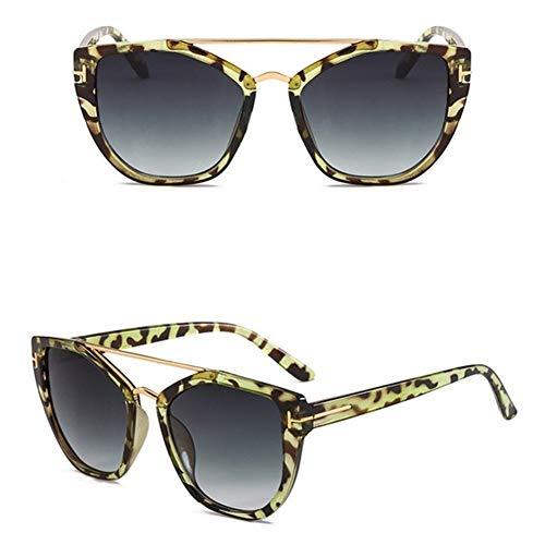 N\A Gafas de Sol de Moda La Moda Punk Gafas Populares de Tendencia Abrigo del Sol del Metal de los anteojos de Sol de Las Mujeres de la Vendimia vidrios de Sun de señora Sombras Gafas de Sol UV400