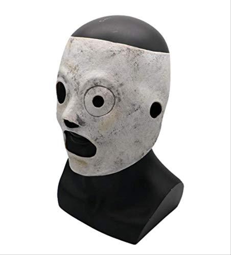 tytlmask Latex De Masque Slipknot Bande Halloween Masque Corey Taylor Cosplay TV Performance Partie Décoration Masque Cosplay Costume Props pour Halloween, Parties, Bar De Divertissement