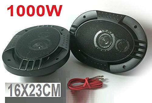 Altavoces para Coche 6' X 9' 163mm x 237mm 1000w 4 ohmios Altavoz WG-69