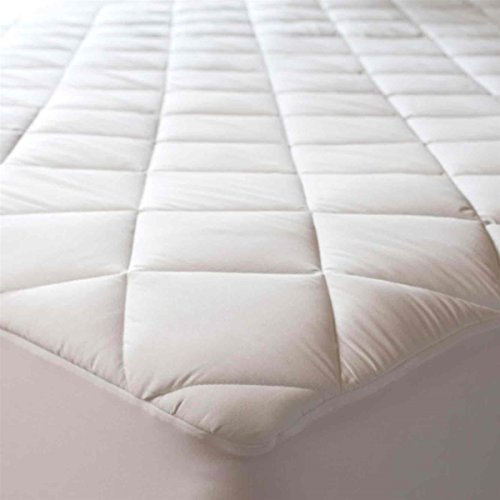 Quilted Mattress Protector King Bed Size Polycotton Cover Extra Deep 30cm Fabric Skirt All Uk Sizes