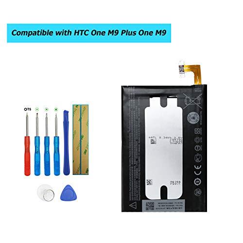 Upplus B0PGE100 - Batería de Repuesto para HTC One Hima One M9/One M9 Plus One Me HTC M9, HTC One M9 35H00236-00M (con Kit de Herramientas)