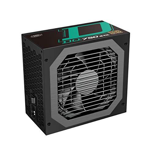 DEEP COOL DQ750-M-V2L PC Fuente de Alimentación, Diseño Completamente Modular de 750w,...