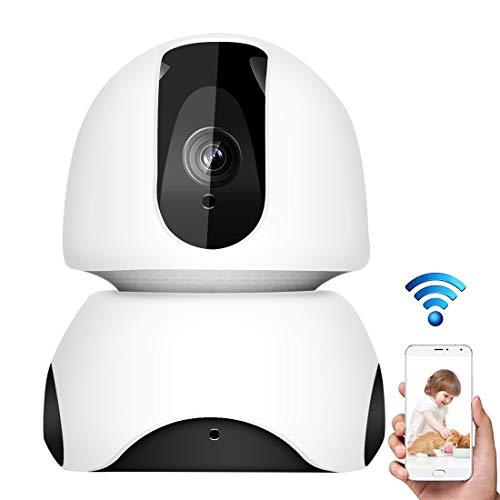 GJPAJGID Bewakingscamera EC30 3D Navigation Internet Network HD 2.0MP videocamera, ondersteuning IR-nachtzicht & TF-kaart & audio-input/output (wit), wit