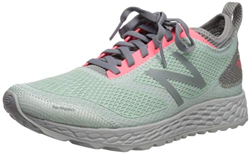 New Balance Women's Gobi V3 Fresh Foam Trail Running Shoe, White Agave/Guava, 10.5 B US