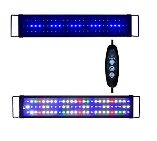 Sxsoace 5730SMD Full Spectrum Leuchte für Aquarium 30-180cm LED Licht EU A149 (120cm)