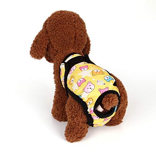 MYYXGS Hund Physiologische Hose Hund Punkte Weiche
