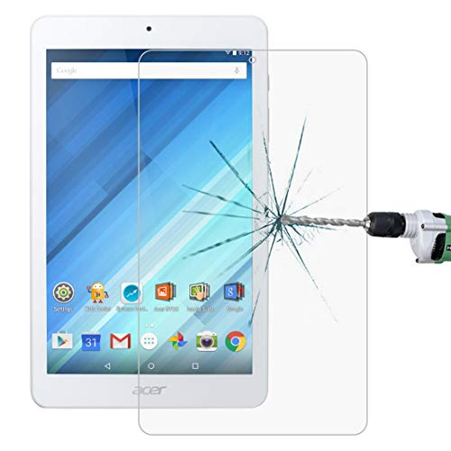 JIXIAO Boutique Accessories 0.3mm 9H Full Screen Tempered Glass Film for Acer Iconia One 8 B1-850 (Color : Color1)