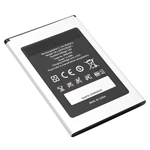 vhbw Li-Ion Akku 3000mAh (3.8V) für Handy Smartphone Handy wie Oukitel 1ICP5/56/82