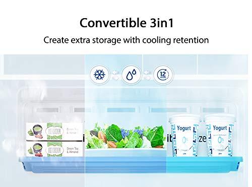 Samsung 253L 3 Star Inverter Frost Free Double Door Refrigerator (RT28T3743S8/HL, Elegant Inox, Convertible) 2