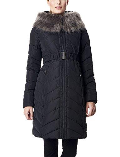 Esprit Maternity Coat Manteau de Maternité, Noir (001), 36 Femme