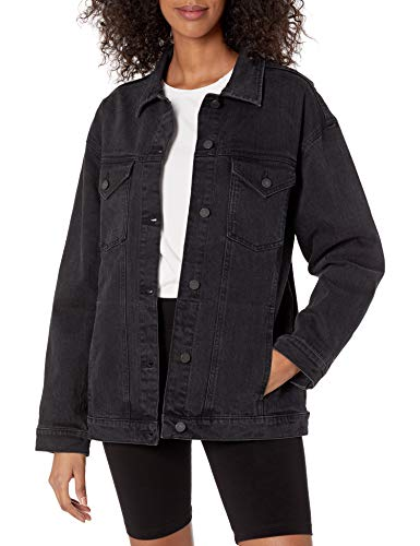The Drop Andrea Veste en Jean pour Femme, Coupe Oversize