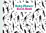 Baby Shower Guest Book: Badminton Cover Baby Shower Guest Book, Includes Gift Tracker Log and Memory Picture, 150 Pages, Size 8.25' x 6' By Kelly Findlay
