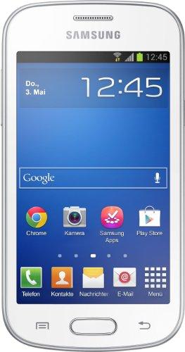 Samsung Galaxy Trend Lite Smartphone (10,2 cm (4 Zoll) TFT-Display, 1GHz, 512MB RAM, 3,2 Megapixel Kamera, 4GB interne Speicher, USB 2.0, Android 4.1) ceramic-white