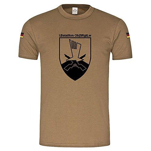 Copytec BW Tropen I Bataillon ObjSRgtLw Schortens Luftwaffe Bundeswehr Objektschutzregiment Btl Friesland Objektschutz Regiment Wappen