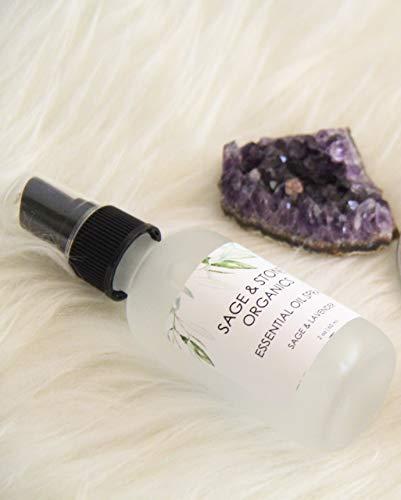 Sage & Lavender Essential Oil Spray, Room Spray, Body Spray, Linen Spray, Loo Spray, All Natural, Cruelty Free, 2 Ounces