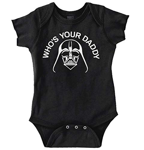 Who's Your Daddy Dark Lord Space Baby Romper Boys or Girls