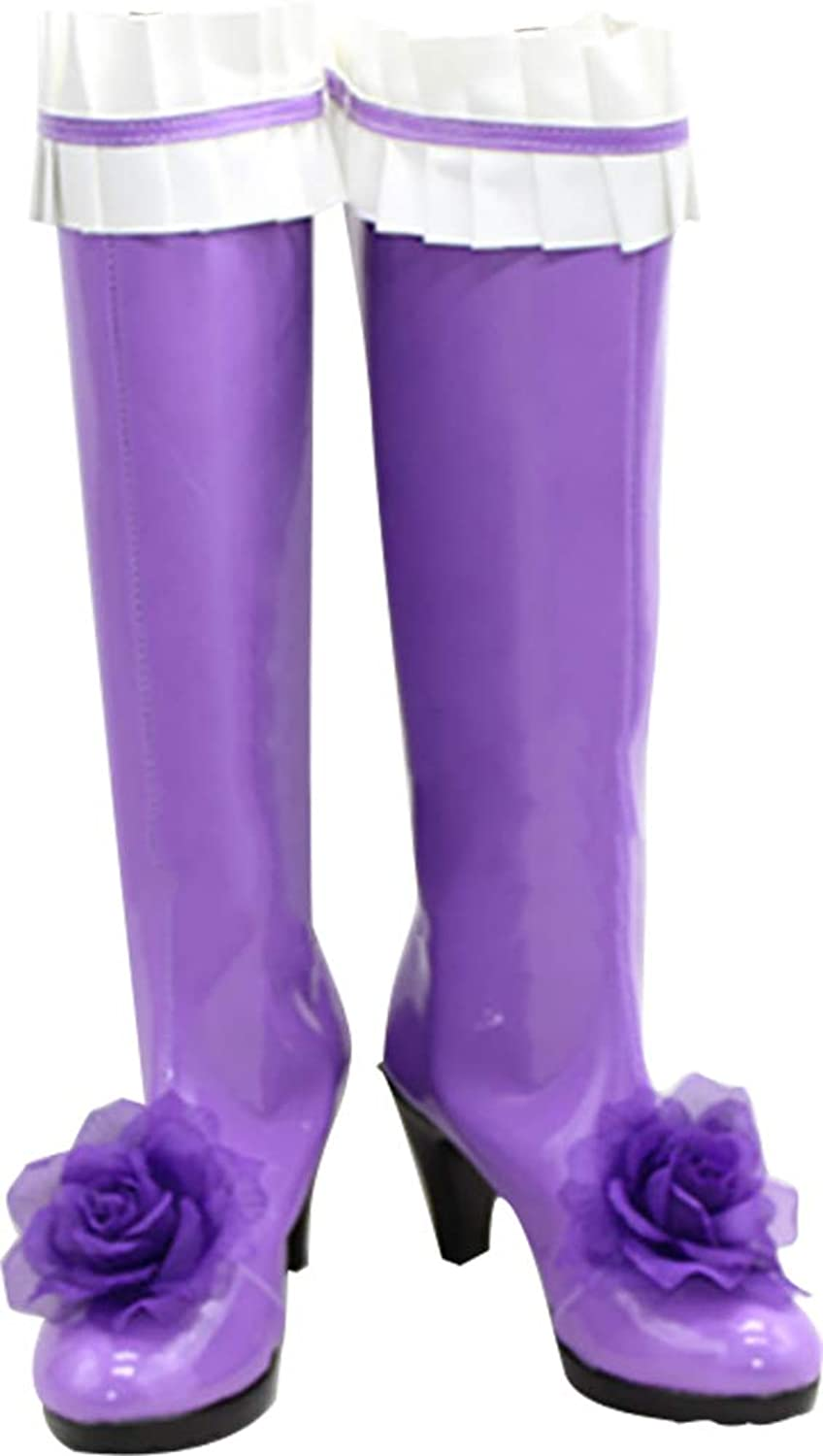 Whirl Cosplay Boots shoes for Rozen Maiden pinkn Kristall