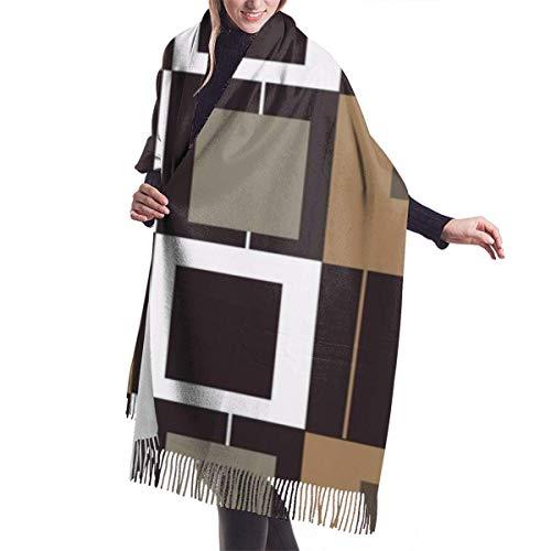 shenguang Malmo Modern Women & rsquo; s Oversiz Shawl o Warm Wrap Bufandas de invierno Manta Bufanda Pashmina Cape