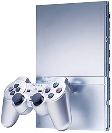 PlayStation 2 Slim Silver (Renewed)