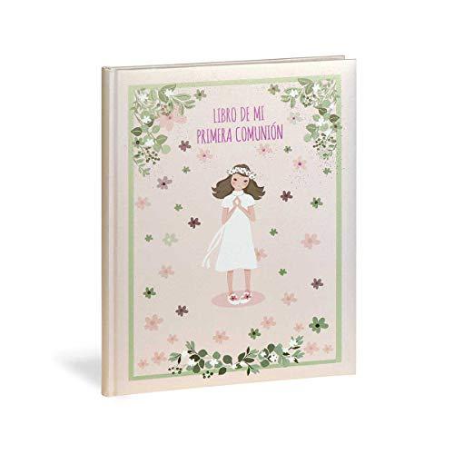 Busquets Libro comunion Castellano Niña Flores by
