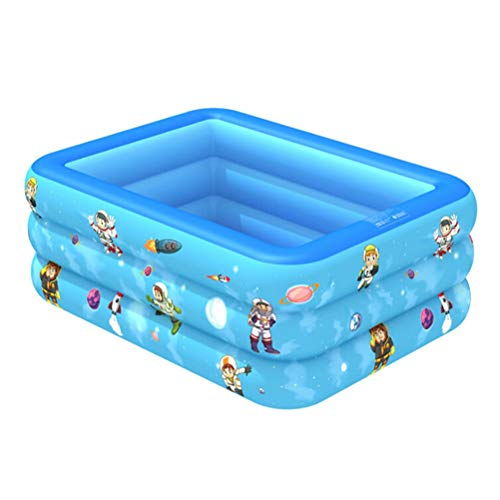 DFSDG Niños inflables Piscina Partido de Verano Familia Centro de Juego de Agua Multi-Capa Juguete al Aire Libre para niños y Adultos (Size : 120 * 85 * 35cm)