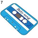 strimusimak Audiotape Alfombra de Franela Antideslizante Absorbente para el baño, 40 x 60 cm, 7#